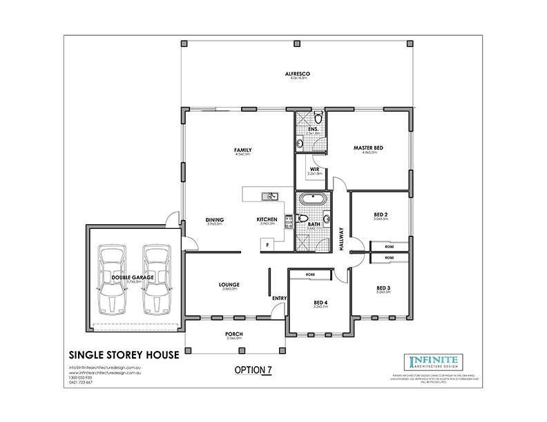 Single Storey Floor Plan