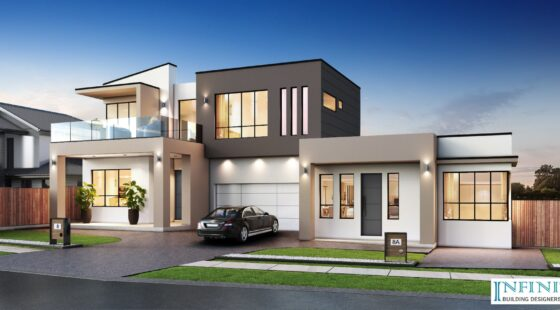 Two Storey House with attached Granny Flat